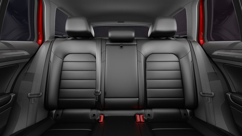 2018 Golf Alltrack folding rear seats
